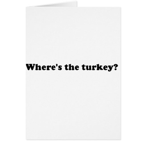 turkey cards