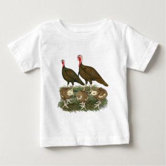 Turkey Chocolate Family Baby T-Shirt