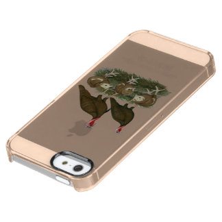 Turkey Chocolate Family Uncommon Clearly™ Deflector iPhone 5 Case