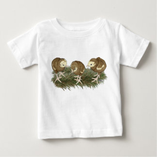 Turkey Chocolate Poults Baby T-Shirt