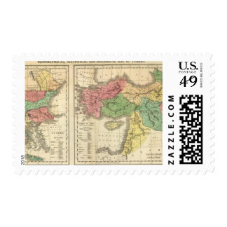 Turkey Chronological Map Postage