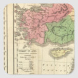 Turkey Chronological Map Stickers