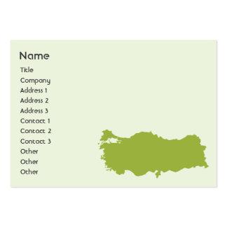 Turkey - Chubby Business Card Template