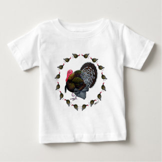 Turkey Circle Baby T-Shirt