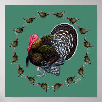 Turkey Circle Poster