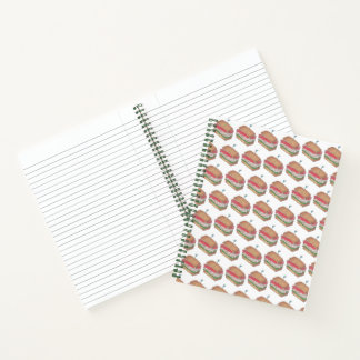 Turkey Club Sandwich Diner Deli Food Foodie Lunch Notebook