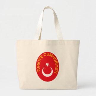 Turkey Coat of Arms Tote Bag