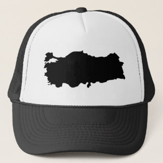 Turkey contour icon trucker hat