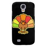 Turkey Cute Cartoon Thanksgiving Design Galaxy S4 Covers