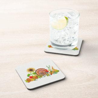 Turkey Day Beverage Coasters