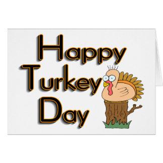 Turkey Day Greeting Card
