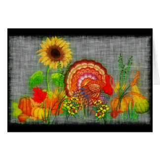 Turkey Day Card