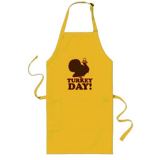 Turkey Day - Customized Long Apron