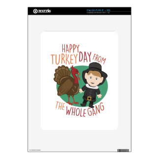 Turkey Day Decals For The iPad