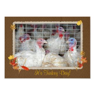 Turkey Day Dinner Invite