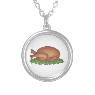 Turkey Day Happy Thanksgiving Necklace