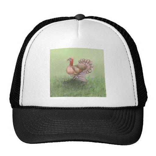 turkey day mesh hats