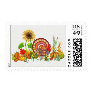 Turkey Day Postage