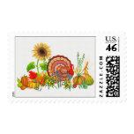 Turkey Day Postage Stamp