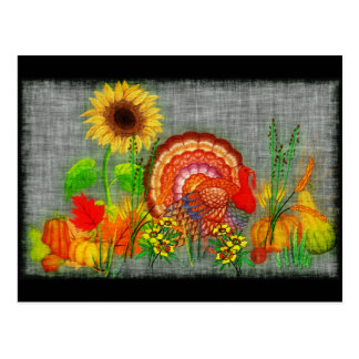 Turkey Day Postcard
