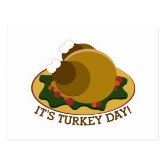 Turkey Day Post Card