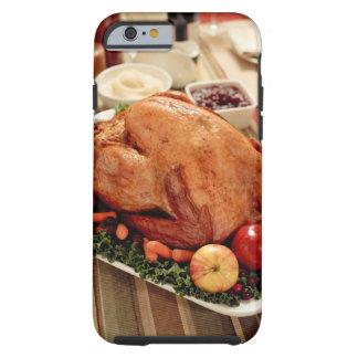Turkey Dinner Meal Tough iPhone 6 Case