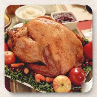 Turkey Dinner Meal Drink Coaster