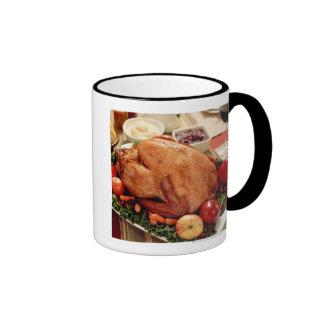 Turkey Dinner Meal Mugs
