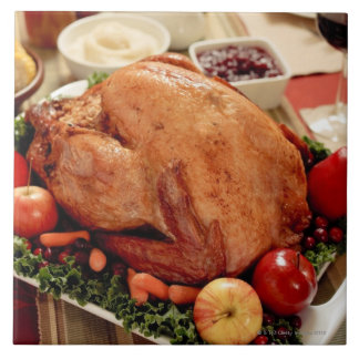 Turkey Dinner Meal Tile