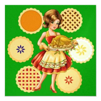 Turkey Dinner / Thanksgiving / Christmas Invitation