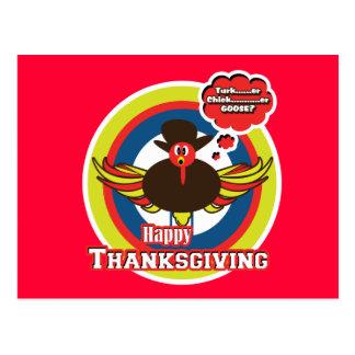 Turkey divas - Outlaw Wayne funny cartoon cards Post Card