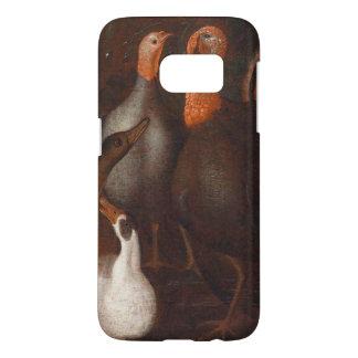 Turkey Ducks Pigeon Thanksgiving Samsung Case