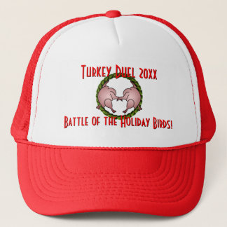Turkey Duel Holiday Cook Off Trucker Hat