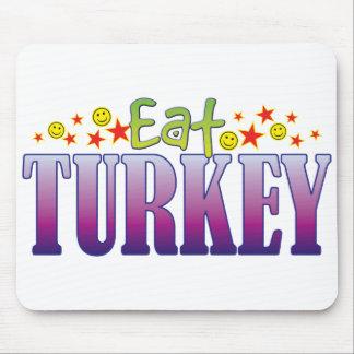 Turkey Eat Mouse Pad