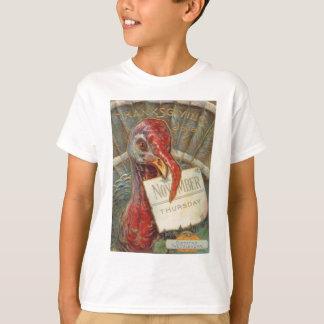 Turkey Eating November Calendar T-Shirt