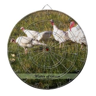 Turkey Family Dart Boards