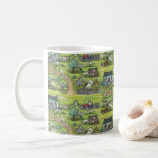TURKEY FARM GOBBLERS FUNNY THANKSGIVING MUG
