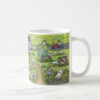 "TURKEY FARM GOBBLERS ""HAPPY THANKSGIVING"" MUG"