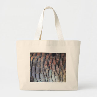 Turkey Feathers Canvas Bags