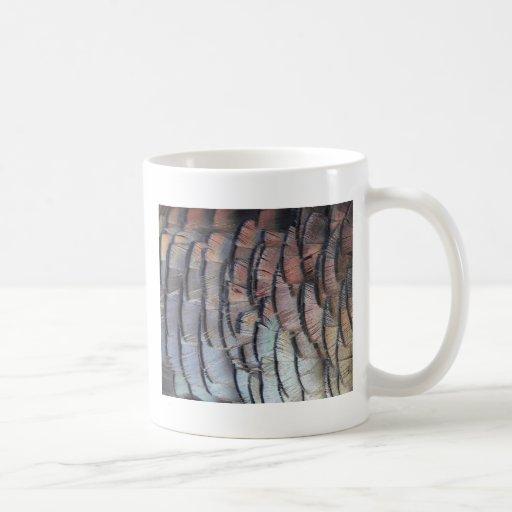 Turkey Feathers Classic White Coffee Mug