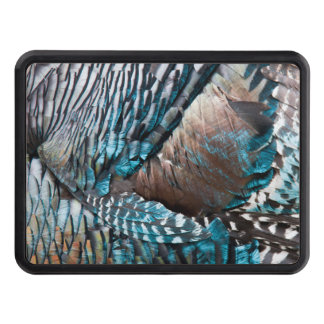 Turkey feathers tow hitch covers