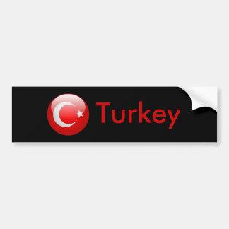Turkey Flag Bumper Stickers