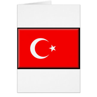 Turkey Flag Card