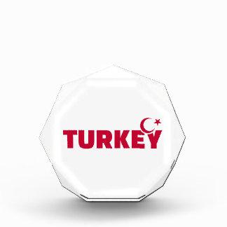 Turkey flag crescent star awards