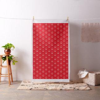 Turkey Flag Fabric