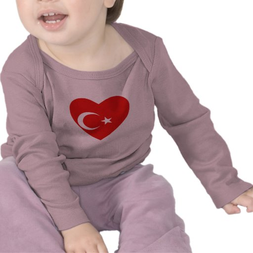 Turkey Flag Heart T-Shirt