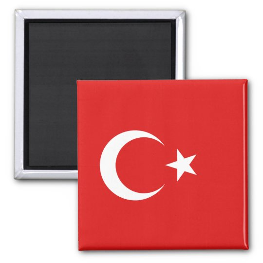 Turkey Flag Magnet