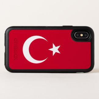 Turkey Flag OtterBox Symmetry iPhone X Case