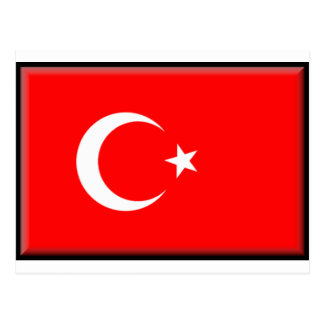 Turkey Flag Postcard