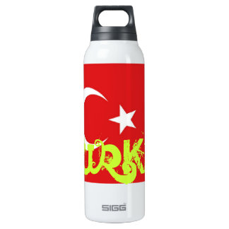 Turkey flag SIGG thermo 0.5L insulated bottle